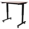 Luxor 48 Electric Standing Desk LUX STANDE-48-BK/DW