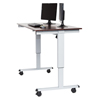 Luxor Electric Standing Desk LUX STANDE-60-AG/DW