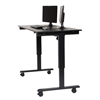 Luxor Electric Standing Desk LUX STANDE-60-BK/BO