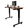 Luxor Electric Standing Desk LUX STANDE-60-BK-TK