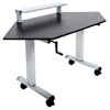 Luxor 60 Standing Corner Desk LUX STANDUP-CCF60-B