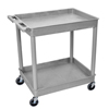 Luxor 2-Shelf Tub Cart LUX TC11-G