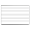 Luxor Wall-Mount Music Whiteboard LUX WB7248M