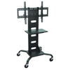 Cake Pie Covers Stands: Luxor - Mobile Flat Panel TV Stand + Mount