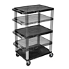 Cake Pie Covers Stands: Luxor - Multi-Height A/V Cart