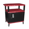 Janitorial Carts, Trucks, and Utility Carts: Luxor - Tuffy Cart with Cabinet