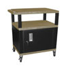 Luxor Tuffy Cart with Cabinet LUX WT34TNC2E-B