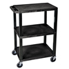 Clean and Green: Luxor - Tuffy Utility Cart - Three Shelves