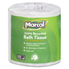 Marcal Small Steps® 100% Recycled Fluffy Two-Ply Bath Tissue MAC 4580