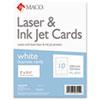 Chartpak Maco® Business Cards MAC ML8555