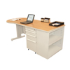 Marvel Group Teachers Conference Desk w/Bookcase MLG ZTCB7530-UT-SO