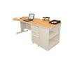 Marvel Group Teachers Conference Desk w/Bookcase MLG ZTCB8730-UT-SO
