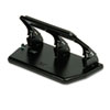 staplers & punches: Master® Heavy-Duty Three-Hole Punch with Gel Pad Handle