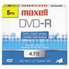 Maxell Maxell® DVD-R Recordable Disc MAX 638002