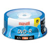Maxell Maxell® DVD-R Recordable Disc MAX 638010
