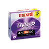 Maxell Maxell® DVD+R High-Speed Recordable Disc MAX 639002