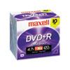 Maxell Maxell® DVD+R High-Speed Recordable Disc MAX 639005