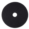 Floor Care Equipment: Black Stripper Floor Pads 7200