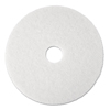 3M White Super Polish Floor Pads 4100 MCO 08477