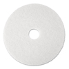 Floor Care Equipment: White Super Polish Floor Pads 4100