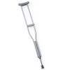 Medline Standard Aluminum Push-Button Crutches MED MDSV80536
