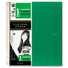 school notebooks and business notebooks: Five Star® Wirebound Notebook