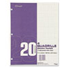 filler paper: Mead® Quadrille Graph Paper