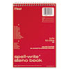Ring Panel Link Filters Economy: Mead® Spell-Write® Steno Book