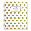 Mead Cambridge® Gold Dots Hardcover Notebook MEA 59014