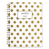 Notebooks Writing Pads School Lab Notebooks Pads: Cambridge® Gold Dots Hardcover Notebook