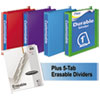 Mead Mead® Durable D-Ring View Binder Plus Pack MEA 66514AU