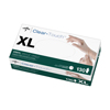 Medline Clear-Touch Vinyl Multi-Purpose Gloves - CA Only, X-Large MED 6CLE204