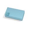 Medline Designer Boxed Vinyl Exam Gloves - CA Only, Clear, Medium MED 6HOME402
