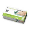 Medline Aloetouch Ultra IC Synthetic Exam Gloves - CA Only, Green, Medium MED 6MDS195075H