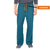 Medline PerforMAX Unisex Reversible Scrub Pants with Front Drawstring, Blue, Small MED 800JCBS-CA