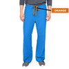 Medline PerforMAX Unisex Reversible Scrub Pants with Front Drawstring, Blue, Small MED 800JRLS-CA