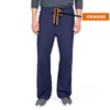 Medline PerforMAX Unisex Reversible Scrub Pants with Front Drawstring, Blue, Small MED 800NNTS-CA