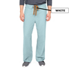 Medline PerforMAX Unisex Reversible Scrub Pants with Front Drawstring, Green, Small MED 800NTZS-CM