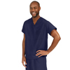 Medline PerforMAX Unisex Reversible V-Neck Scrub Top with 2 Pockets, Blue, XS MED 810NNTXS-CA