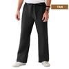 Medline ComfortEase Unisex Reversible Scrub Pants with Drawstring, Black, XL MED 900DKWXL-CM