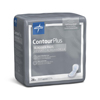 "incontinence liners and incontinence pads: Medline - Capri Plus Bladder Control Pads- Extra Plus, 6.5"" x 13.5"""