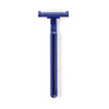 Medline Twin Blade Facial Razors with Lubrication Strip MEDBRN1323Z