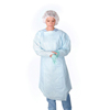 workwear healthcare: Medline - Polyethylene Thumb Loop Style Isolation Gowns