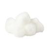 Curad Sterile Cotton Balls, Medium, 1, 130 EA/BX, 24 BX/CS MED CUR110163RB