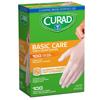Curad Basic Care Powder-Free Vinyl Exam Gloves, OSFM, 1000/CS MED CUR4135RP
