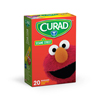 Wound Care: Curad - Sesame Street Adhesive Bandages, Assorted Colors, 20/BX
