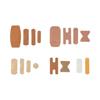 Medline CURAD Variety Pack Assorted Bandages, Assorted Colors, 18 BX /CS MEDCURCC320BC