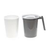 Medline Water Pitcher Set with Foam Inner Liner, Graphite, 32 oz., 40 EA/CS MED DYKD100CMFL