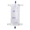 Medline Leg Bags with Twist Valve, 48 EA/CS MED DYND12578