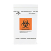 "Specimen Collection: Medline - Zip-Style Biohazard Specimen Bags 6"" x 9"""